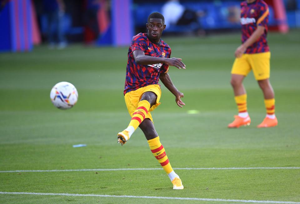 Barca mở toang cửa cho Dembele gia nhập MU