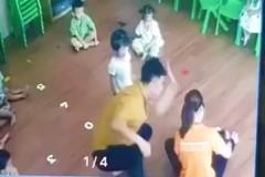 Phụ huynh vào lớp đánh trẻ mầm non trước mặt giáo viên
