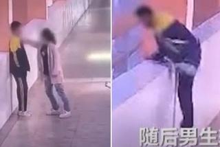 Cậu bé nhảy lầu tự tử sau khi bị mẹ tát trước mặt các bạn