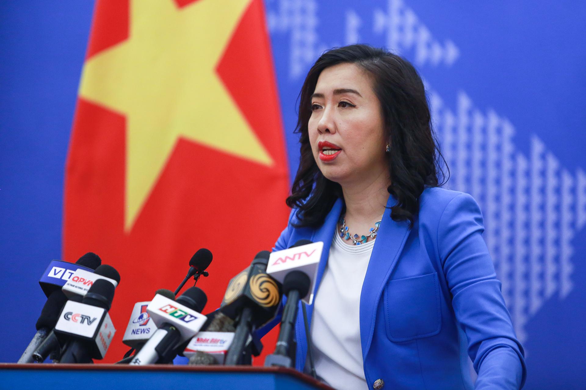 Việt Nam bình luận việc Anh, Pháp, Đức gửi công hàm về Biển Đông