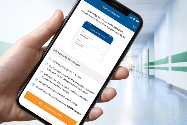 VIB cung cấp bảo hiểm qua ứng dụng ngân hàng di động