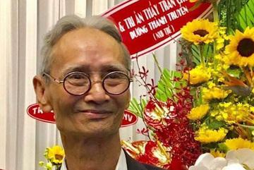 Nhà giáo Trần Chút qua đời