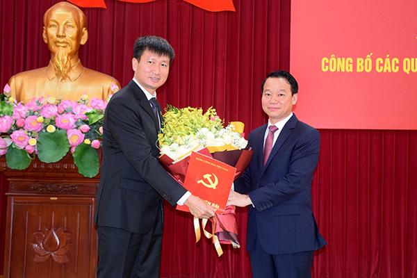 Ông Trần Huy Tuấn được giới thiệu để bầu làm Chủ tịch tỉnh Yên Bái