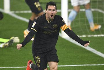 Chơi thiếu người, Barca vẫn thắng to nhờ Fati và  Messi
