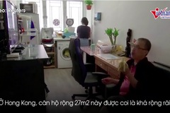 Hong Kong xây chung cư cho người nghèo bằng công-ten-nơ