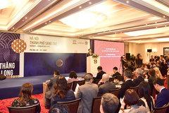 Tọa đàm cấp cao 'Tham vấn sáng tạo về Hà Nội - Thành phố sáng tạo'