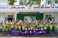 CapitaLand trao quà và học bổng cho hơn 1.400 học sinh