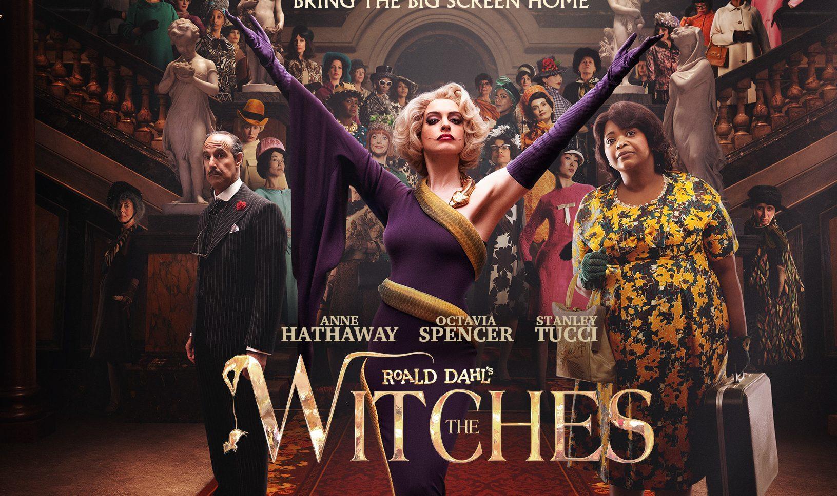'Công chúa' Anne Hathaway vào vai phù thủy tối thượng đẹp ma mị