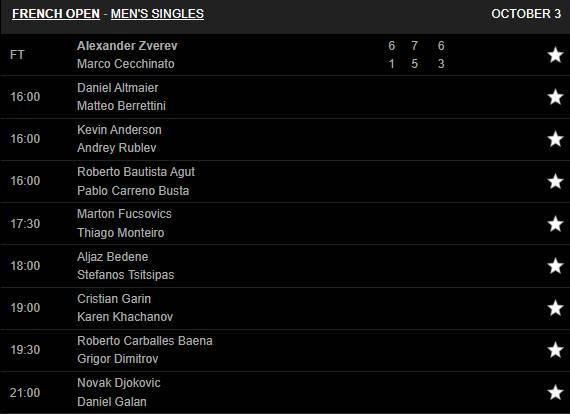 Dominic Thiem thẳng tiến vòng 4 Pháp mở rộng