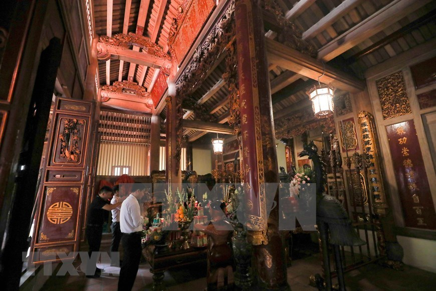 Bach Ma Temple - One of four sacred guarding temples of Hanoi