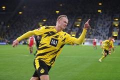 """Haaland """"lên đồng"""", Dortmund thắng hoành tráng"""