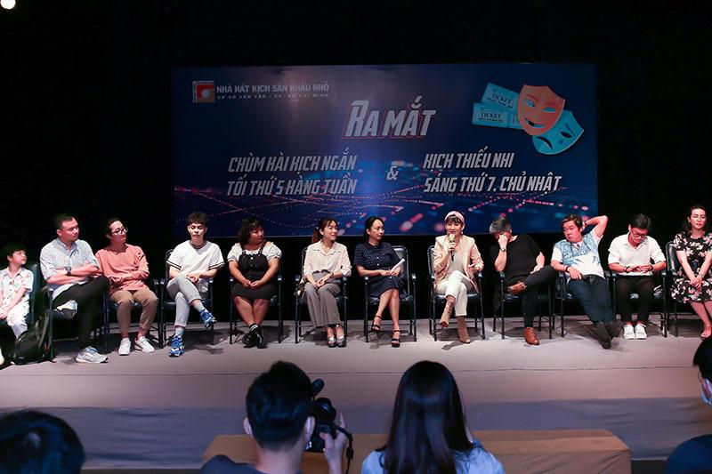 NSƯT Mỹ Uyên quyết tâm thắp lửa cho kịch nói Sài Gòn