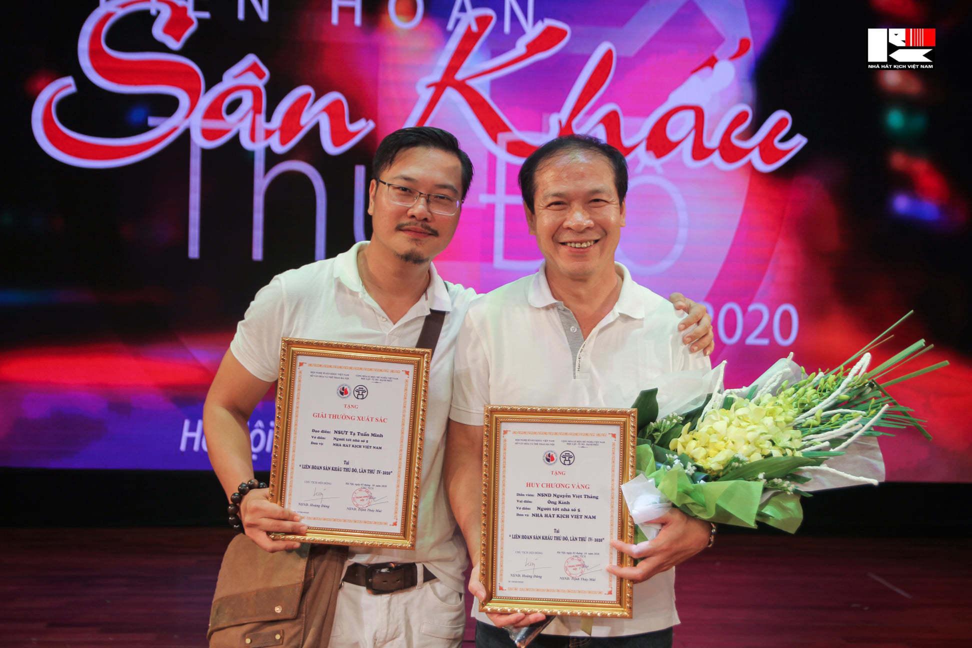 NSƯT Trần Lực thắng lớn tại Liên hoan sân khấu Thủ đô