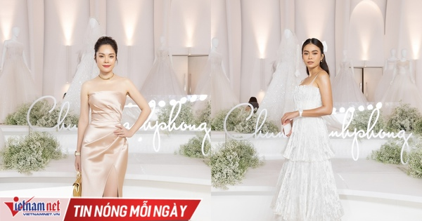 Sao Việt rạng rỡ xem show thời trang của Chung Thanh Phong