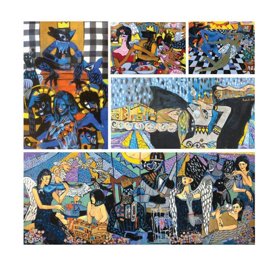 Triển lãm đầu tiên của nhóm vẽ 'Ngày rộng'