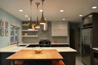 10 ý tưởng cho đèn treo sẽ khiến căn bếp của bạn sáng bừng sức sống