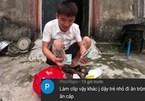 Con trai bà Tân Vlog ăn no 'gạch đá' khi làm clip trộm tiền của người khác