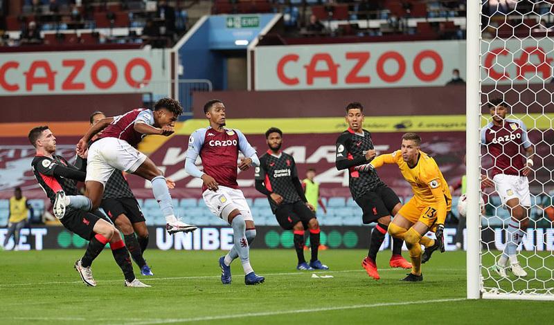 Video Aston Villa vs Liverpool - Video bóng đá Anh