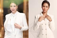 Hà Kiều Anh, H'Hen Niê diện vest trắng thanh lịch, cuốn hút