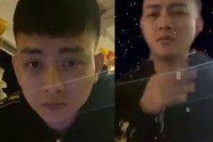 Hoài Lâm tái xuất, lập tức gây tranh cãi vì hành động phì phèo thuốc lá