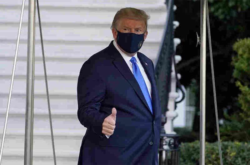 Ai đã lây Covid-19 cho ông Trump?