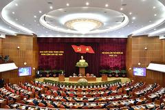 Ngày làm việc đầu tiên, Trung ương thảo luận dự thảo Văn kiện Đại hội XIII