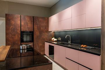 An Cường ứng dụng màu gỗ 'trendy' vào hệ thống showroom