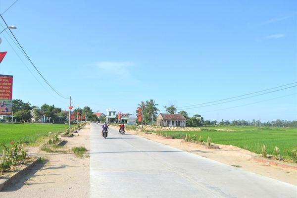 Quảng Nam: Kiên cố hóa hệ thống đường huyện và giao thông nông thôn