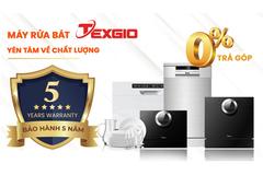 Máy rửachénbát Texgio tăng thời gian bảo hành lên đến 5 năm