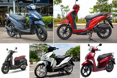 Các mẫu xe tay ga bình dân hao xăng nhất Việt Nam