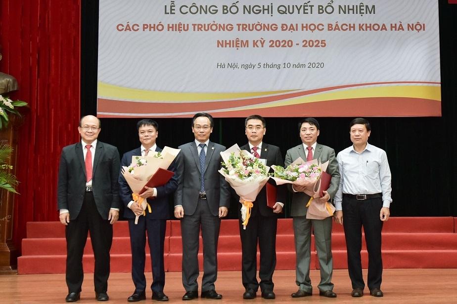 Trường ĐH Bách khoa Hà Nội bổ nhiệm 3 hiệu phó mới