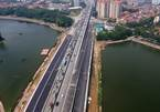 Phân luồng giao thông khi thông xe cầu vượt hồ Linh Đàm ngày 6/10