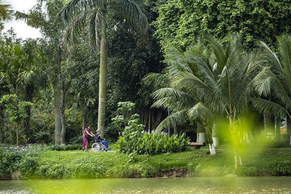 Bình minh tuyệt đẹp ở Ecopark