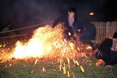Lễ nhảy lửa của người Dao đỏ được công di sản phi vật thể quốc gia