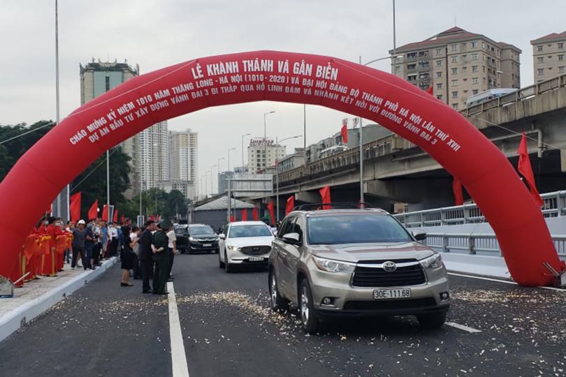 Hà Nội thông xe đường vành đai 3 đi thấp, giải quyết nút thắt Linh Đàm