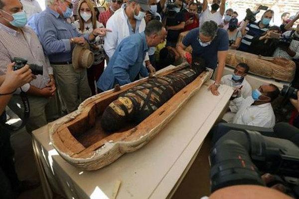 Mục sở thị xác ướp 2.500 tuổi, nguyên vẹn như mới được chôn cất