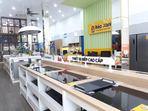 Bếp Xanh khai trương showroom hiện đại ở quận 7 TP.HCM