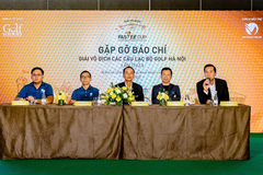 Hà Nội thu nhỏ trong giải vô địch Câu lạc bộ Golf Hà Nội lần thứ 4