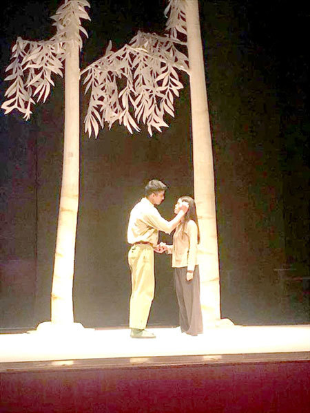Theatre festival honours anti-corruption play