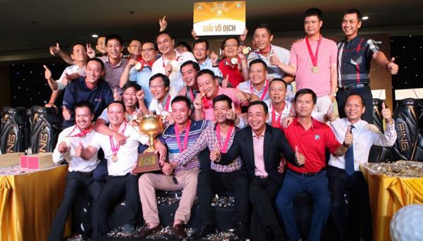 Giải vô địch các CLB Golf Hà Nội - 'đầu tàu' của các giải golf phong trào