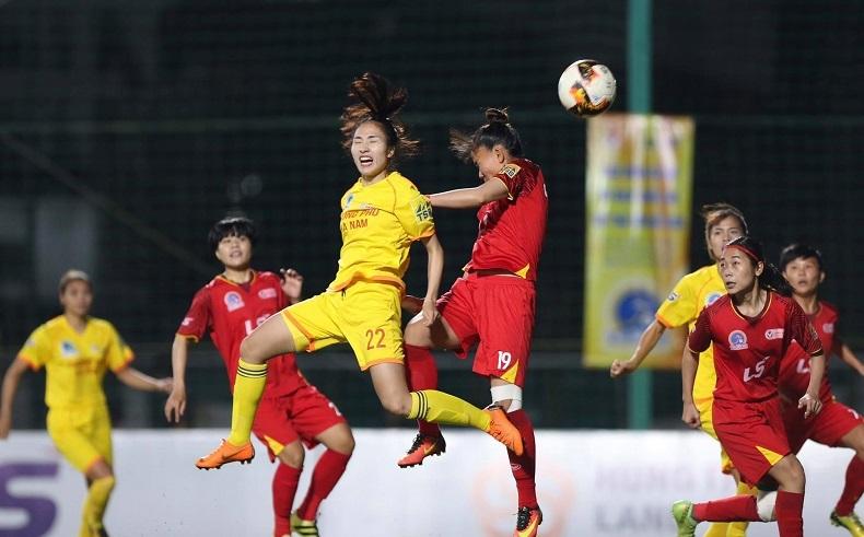 Vòng 5 giải nữ VĐQG 2020: Hà Nam phản đối trọng tài, bỏ thi đấu