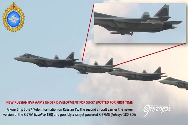 Hé lộ nhiều loại tên lửa không đối không mới của Nga