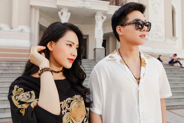 Diễn viên Kha Vũ, Minh Trang xuống phố với loạt đồ hiệu