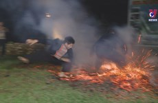 Fire-jumping ceremony of Red Dao group becomes national intangible heritage