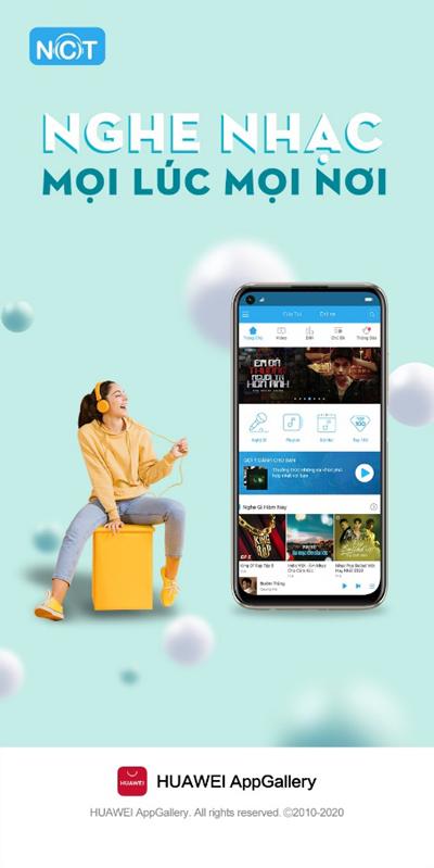 Kho ứng dụng 'khổng lồ' từ Huawei AppGallery