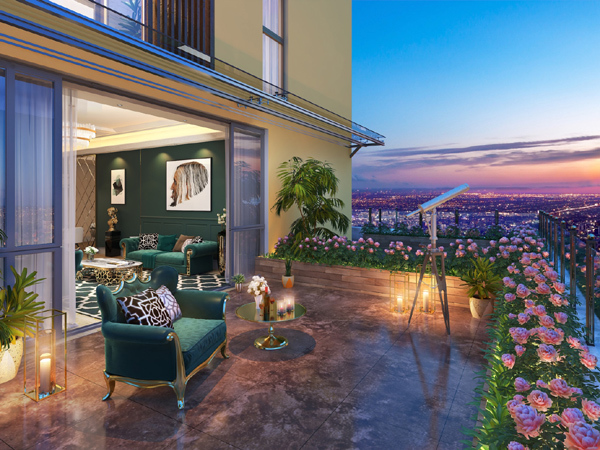 BRG Legend hút khách với các căn hộ 'view triệu đô'
