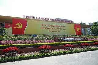 Phân luồng giao thông phục vụ Đại hội Đảng bộ Hà Nội