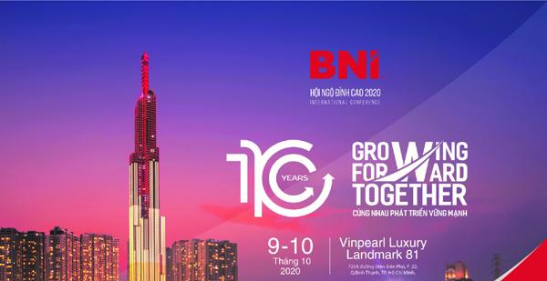 700 DN tham gia 'Hội ngộ đỉnh cao 2020' của BNI