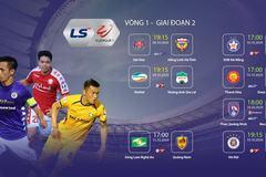 Lịch thi đấu vòng 1 giai đoạn 2 V-League 2020