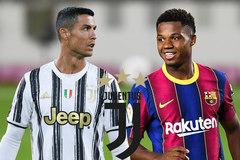 Ronaldo muốn kéo Ansu Fati về Juventus
